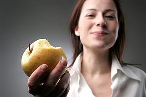 Crudités aux pommes