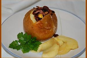 Pommes farcies au céleri et au fromage