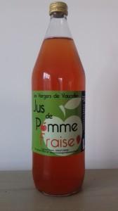 jus de pomme fraise 1 L